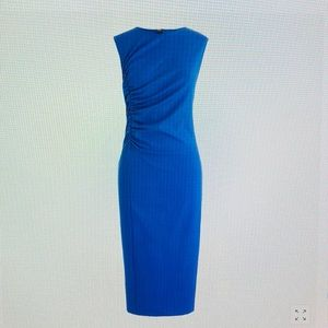 J. Crew Dresses - J. Crew Ruched Ponte Sheath Dress